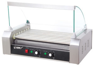 Hot Dog Maker with Glass Cover pictures & photos