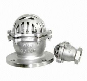 Stainless Steel Flange End Foot Valve pictures & photos