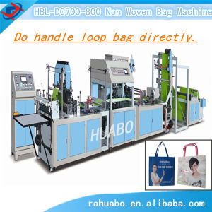 Automatic Non-Woven Loop Handlebag Making Machine pictures & photos