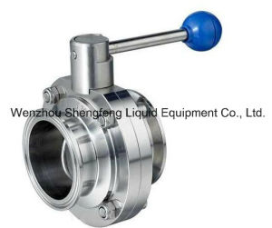 Sanitary Stainless Steel Butterfly Valve pictures & photos
