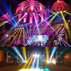 Ly Stage Light 8/16 Prism DMX 7r 230W Beam Moving Head pictures & photos