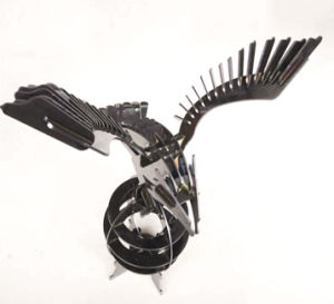 Sheet Metal / Stainless Steel/Eagle/Laser Cutting Artwork pictures & photos