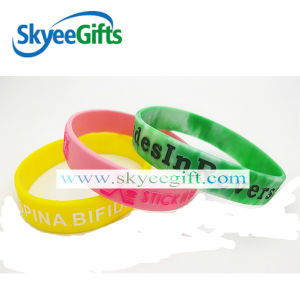 Cheap Silicone Bracelet for Promotion Gift pictures & photos