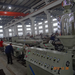 Plastic Pipe Profile Single Screw Extruder