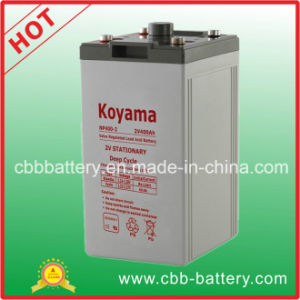 Telecom Battery 2V 400ah AGM Storage Battery pictures & photos