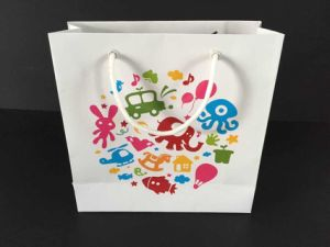 OEM Printed Paper Shopping Bag