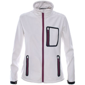 China Hot Sale Women White Softshell Jackets, Waterproof Jacket ...