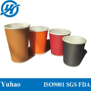Ripple Paper Cups for Hot Drinking pictures & photos