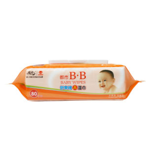 80sheets Baby Wipes Economic Packing pictures & photos