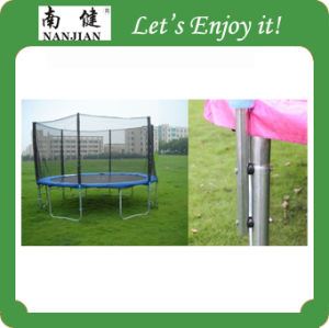 2015 New Magic Circle Trampoline Wholesale with Enclosures pictures & photos