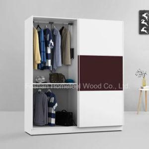 High Quality Wooden Modular Sliding Door Wardrobe (HF-DA009) pictures & photos