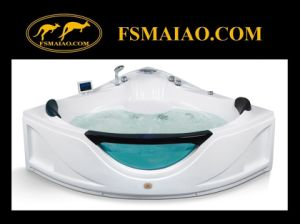 Multi-Function Triangle Modern Acrylic Massage Bathtub (MG-110) pictures & photos