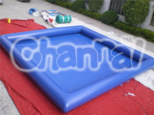 Customized Inflatable Pool Cheap Blue Inflatable Swimming Pool (chb452) pictures & photos