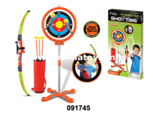 New Plastic Toy Crossbow Set Gun Toy (091745) pictures & photos