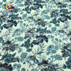 Cotton Polyester Spandex Satin Printed Fabric for Woman Dress (GLLML198) pictures & photos