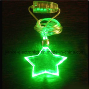 Christmas LED Flashing Star Necklace with Logo Imprint (2001) pictures & photos