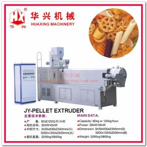 Automatic Stainless Steel 2D and 3D Pellet Food Extruder Snack Machine pictures & photos