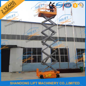 8m Mobile Electric Scissor Lift Table Scaffolding Painting Lifts pictures & photos