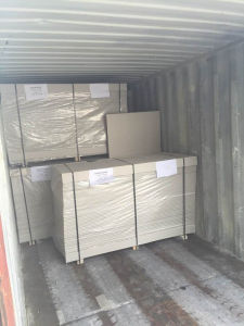 Parition Gypsum Board Thickness 12-20mm/Moisture Fireproof Partition Gypsum System 1220*3660*12mm pictures & photos