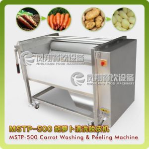 Carrots, Turnips, Radishs Washing Machine, Peeling Machine, Sweet Potatoes Peeler Mstp-500 pictures & photos