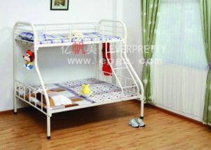 School Furniture Dormitory Hostel Use Bunk Bed and Metal Frame Bunk Bed pictures & photos