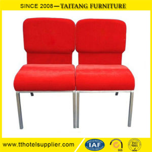 Model Strong Cheap Iron Hotel Chair Church Lobby Furniture Chair pictures & photos