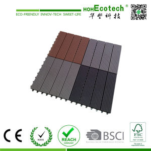 Wood Flooring for House and Commercial Building WPC Wood Embossing Tile pictures & photos