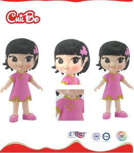 Cartoon Plastic Girl Toy for Kids (CB-PM011-M) pictures & photos