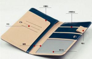Genuine PU Leather Passport Wallet Bag Organizer Holder pictures & photos