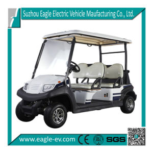 Luxury Golf Car, 2014 New Model, 4 Seats, CE, Eg204ak, with Roof pictures & photos