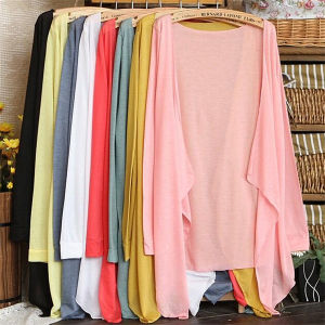 Candy Color Air Conditioning Cardigan Thin Women′s Tops pictures & photos