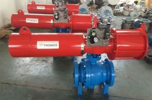 Forged Steel Electric Reduced Bore Ball Valve pictures & photos