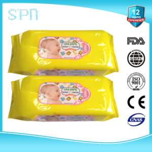 Skincare Organic Nonalcohol Soft Disposable Baby Wet Wipes pictures & photos