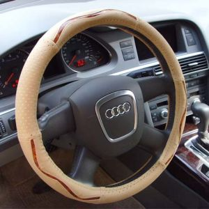 High Quality Auto Steering Wheel Cover pictures & photos
