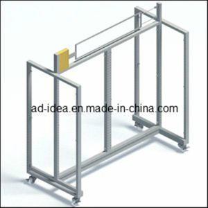 Revolving Garment Rack/Single Bar Rolling Clothes Display (GARMENT-1122) pictures & photos