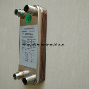 High Quality AISI316L Plates Copper Brazed Plate Heat Exchanger for Central Cooling pictures & photos