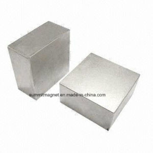 Rare Earth Permanent Magnet Block pictures & photos