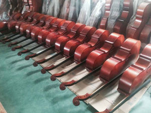 Factory Cheap Price Red Brown Plywood Body Cello for Sale pictures & photos