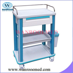 ABS High Quality Hospital Medicine Trolley pictures & photos