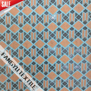 2016 Hot Sell Geometric Knitting Lace Fabric