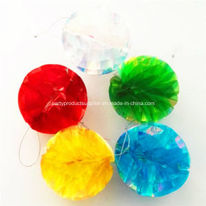 Wedding Decoration Pet Plastic Hanging Honeycomb Ball for Party