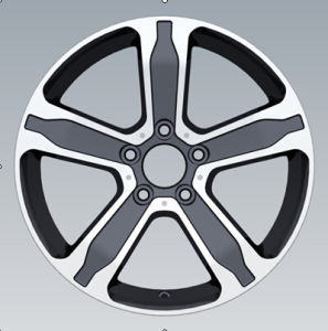 Car Aluminum Alloy Wheel Rims for Benz pictures & photos