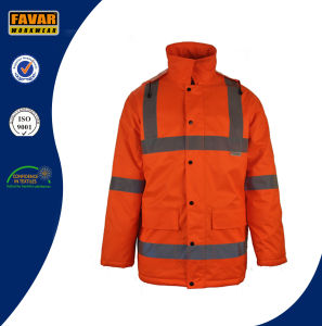 Outdoor Colthing Winter Padded Oxford Windbreaker Jacket pictures & photos