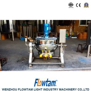 Food Industry Inox Different Heating Jacketed Pan pictures & photos
