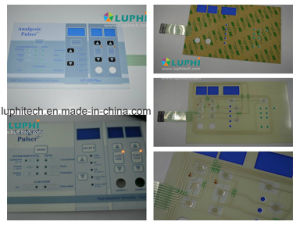 Membrane Control Keypad Switch with Polydome Buttons LED Backlighting pictures & photos