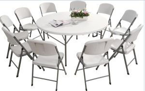 Cheapest Folding Table Commercial Round Folding Table pictures & photos