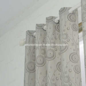 Newest Jacquaed Flower Pattern Curtain pictures & photos