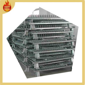 Industrial Foldable Stainless Steel Equipment Storage Cages pictures & photos
