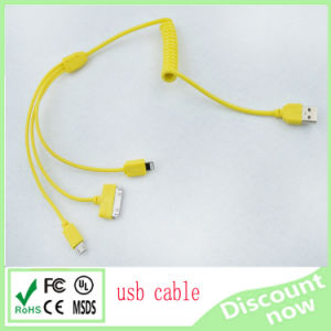 Perfect Design Hot Sell High Quality Multifunctional 3 in 1 USB Cable pictures & photos