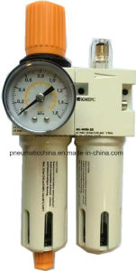 Filter Regulator Lubricator with Square or Round Gauge pictures & photos
